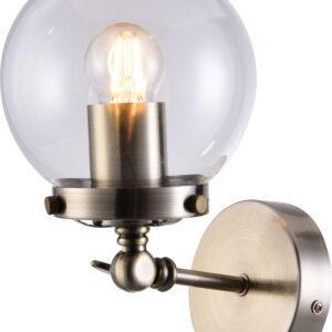 BALLET LAMPA KINKIET 1X40W E27 PATYNOWY - 21-70852