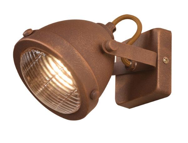 FRODO LAMPA KINKIET 1X40W GU10 RDZAWY - 91-71064