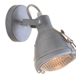 CRODO LAMPA KINKIET 1X40W E14 SZARY - 91-71101