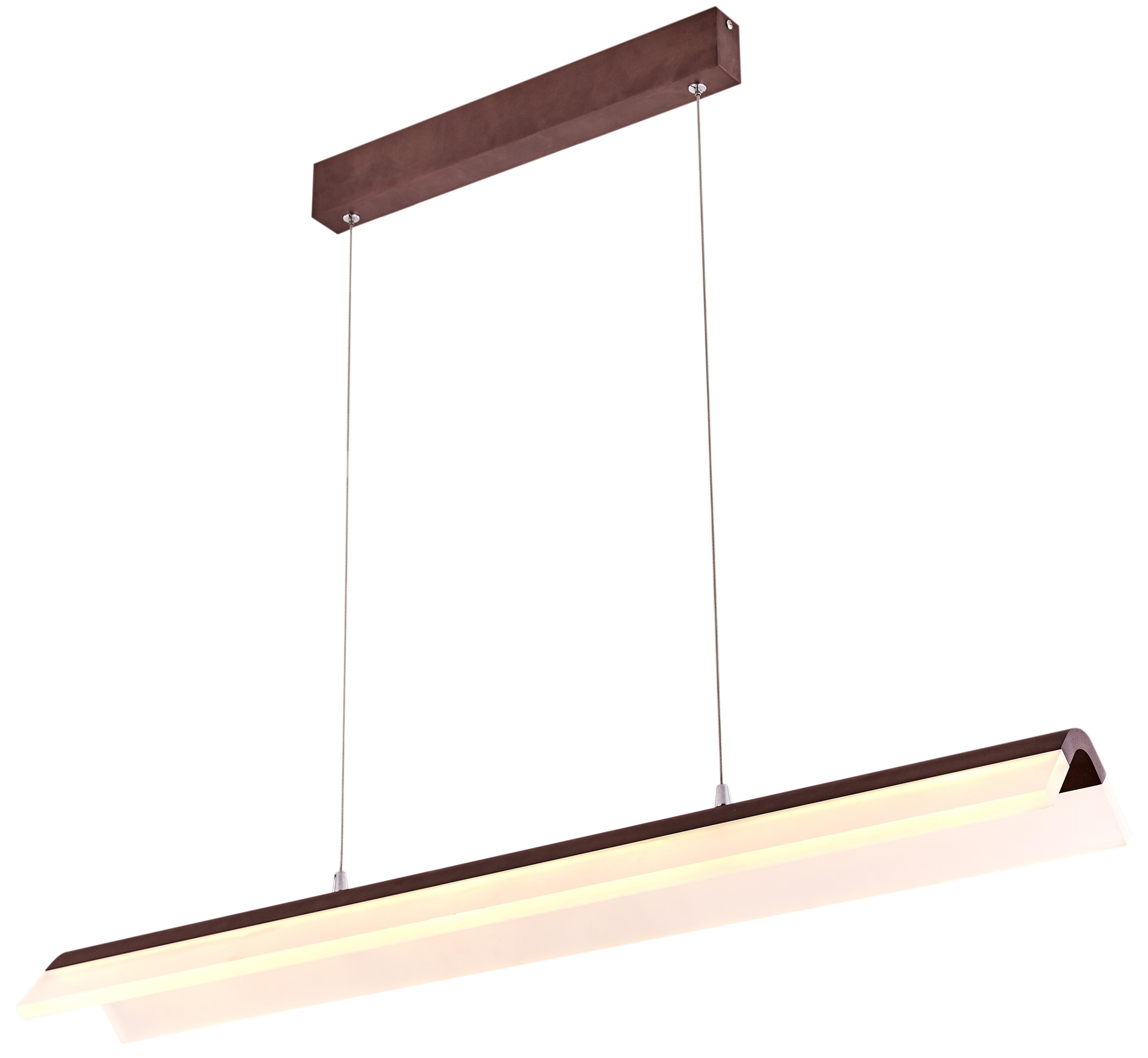 CURACOA LAMPA WISZĄCA 100X16 33W LED BRĄZOWY 4000K APETI - A0011-320