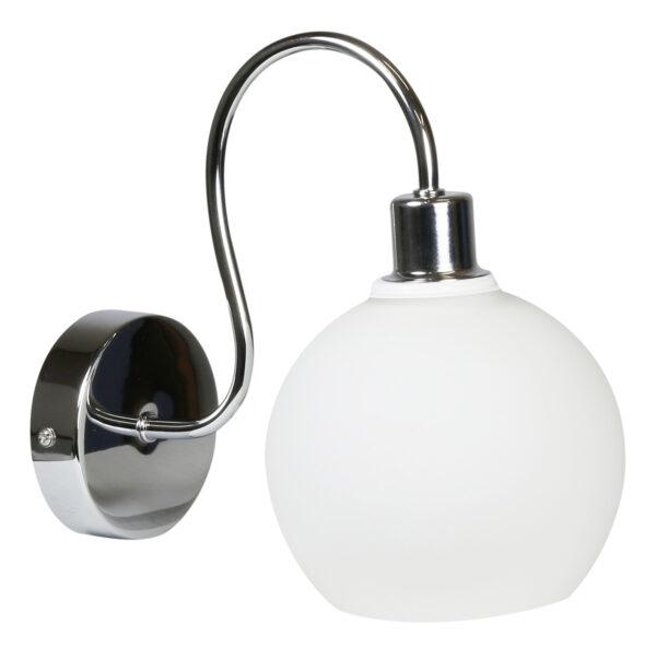 NELDA LAMPA KINKIET 1X60W E14 CHROM - 21-72559