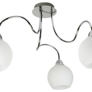 NELDA LAMPA WISZĄCA 3X60W E27 CHROM - 33-72573
