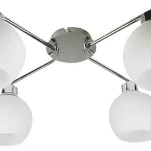 JOSH LAMPA SUFITOWA 4X60W E14 CHROM - 34-72658