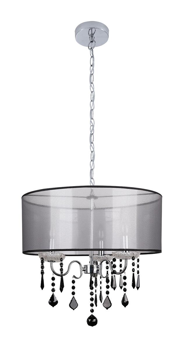 SOTTILE LAMPA WISZĄCA 3X40W E14 CZARNY/CHROMOWY - 33-73921