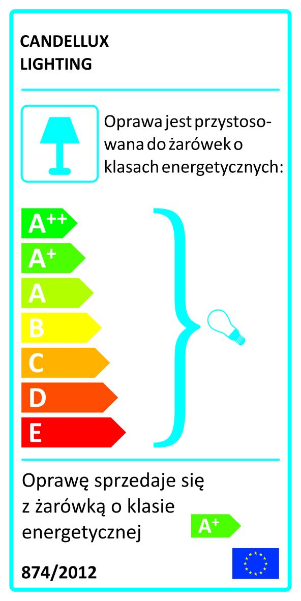 KALEIDOSCOPE LAMPA SUFITOWA SPIRALA 3X4W LED G9 CHROM - 98-61577