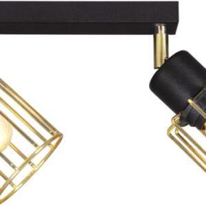 Lampy na listwie K-4781 z serii TROY GOLD