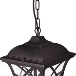 Wisząca lampa zewnętrzna K-5180H czarna z serii KERRY