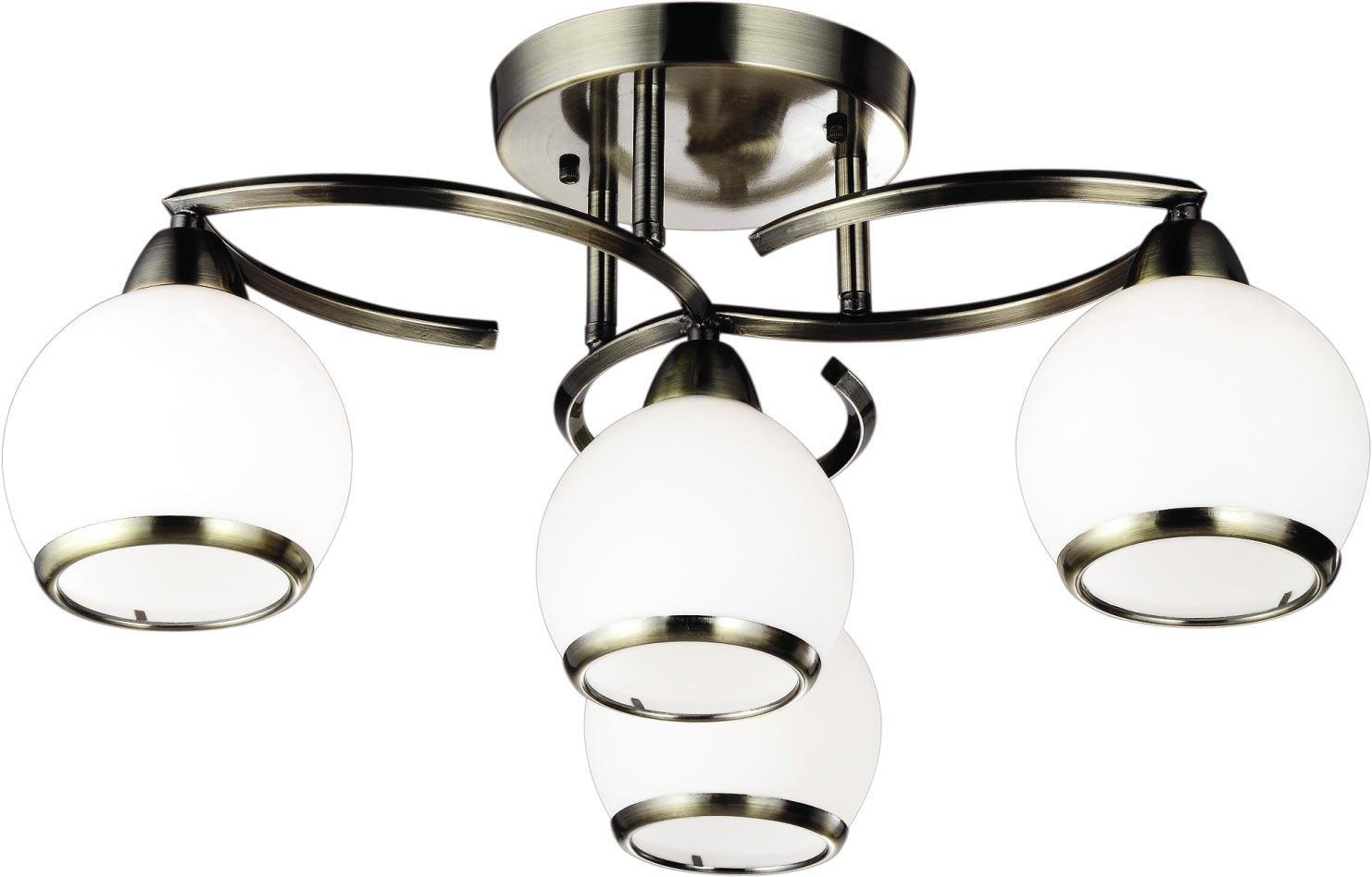 Lampa sufitowa K-JSL-6084/4 AB z serii LARA
