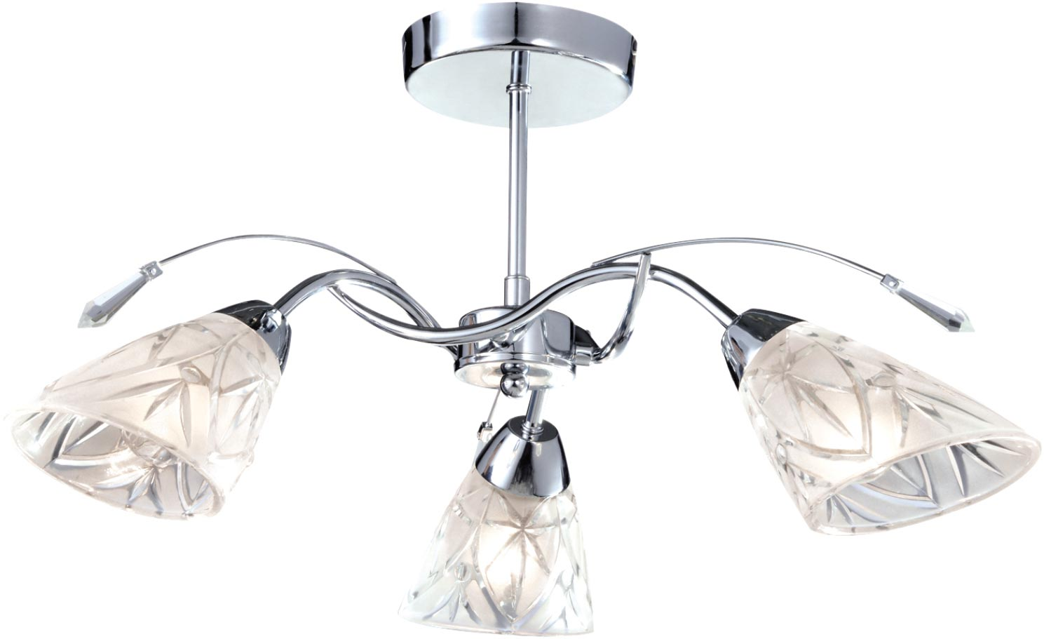 Lampa sufitowa K-JSL-72018/3C CHR z serii TAURUS