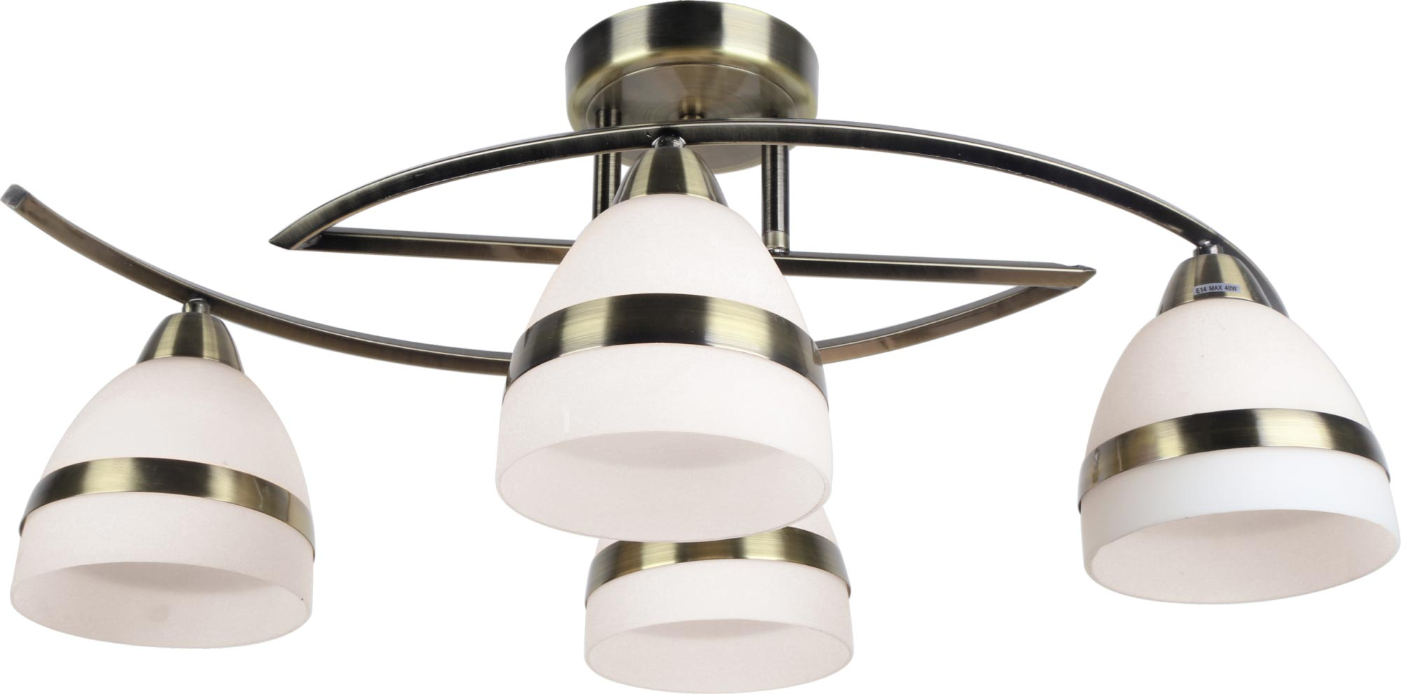 Lampa sufitowa K-JSL-6572/4 AB z serii COLAR