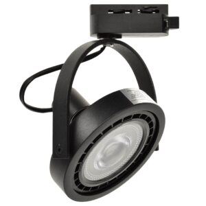 LUGAR BLACK track light 1xAR111 GU10 - ML5702