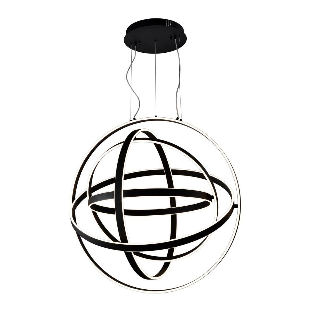 Lampa wisząca COPERNICUS BLACK 180W LED - ML6155