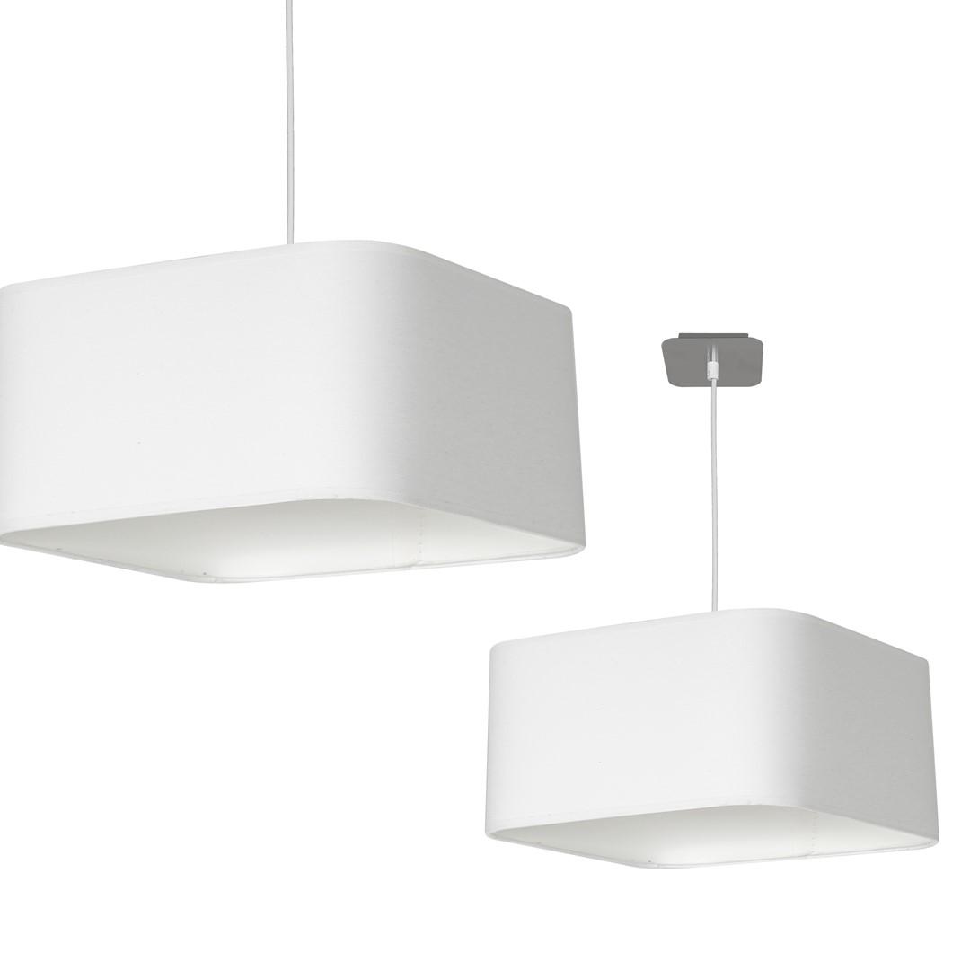 Lampa wisząca NAPOLI WHITE/CHROME 1xE27 - ML6362