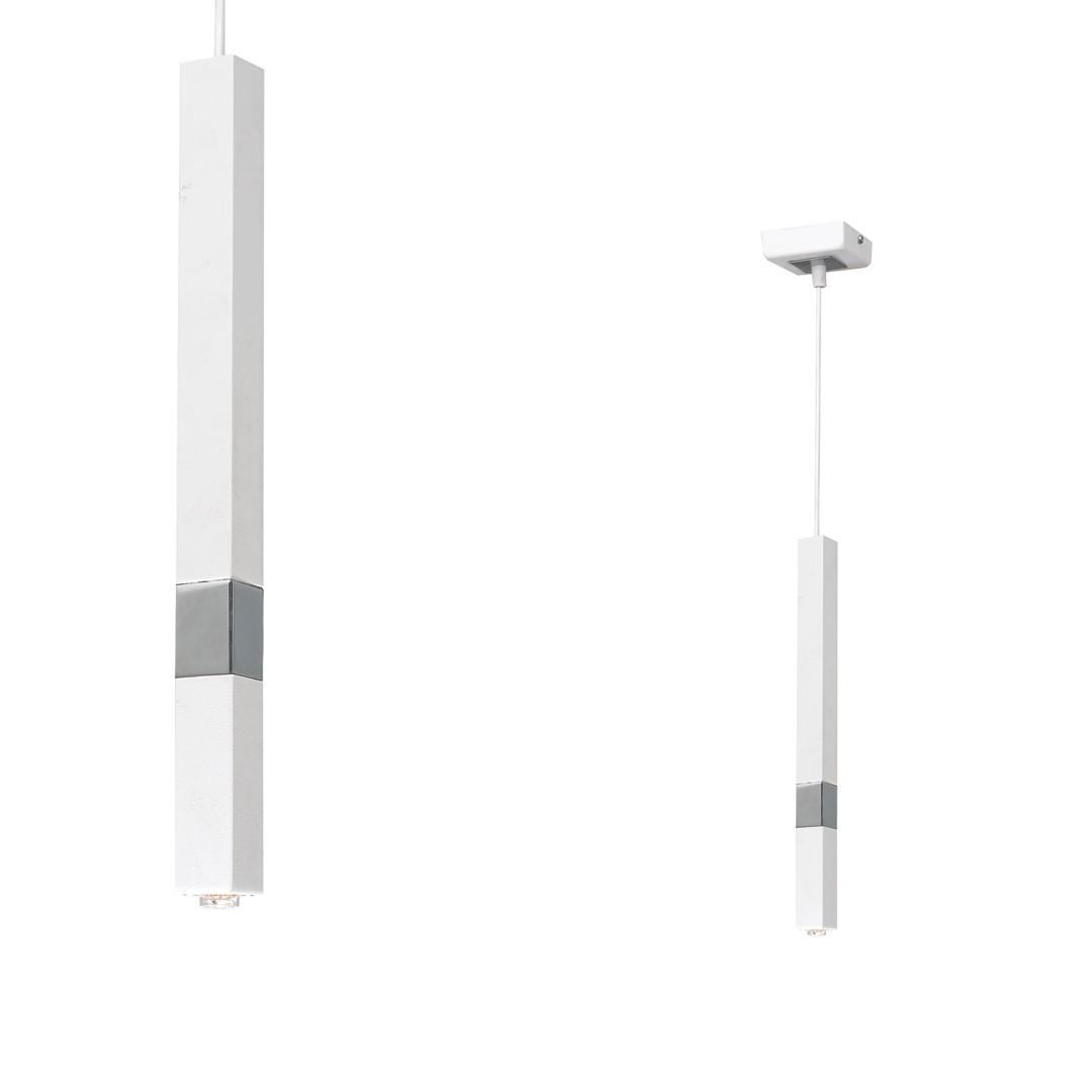 Lampa wisząca CASTRO WHITE / CHROME 1xG9 - MLP6558