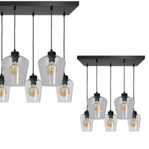 Lampa wisząca SANTIAGO CLEAR 5xE27 - MLP6615