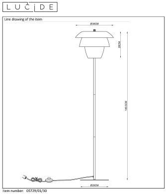 Lampa stojąca JERICHO - 05729/01/30