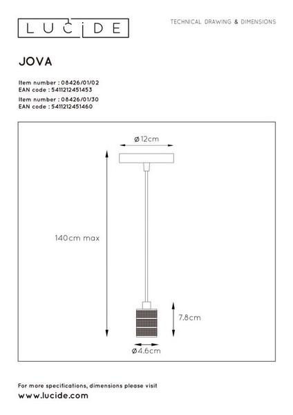Lampa wisząca JOVA - 08426/01/02