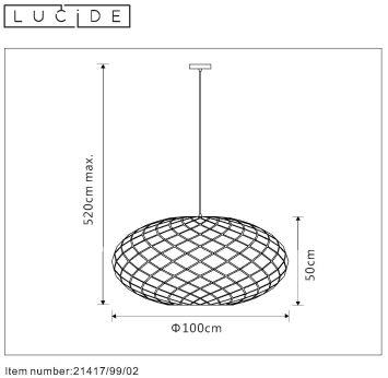 Lampa wisząca WOLFRAM - 21417/99/02