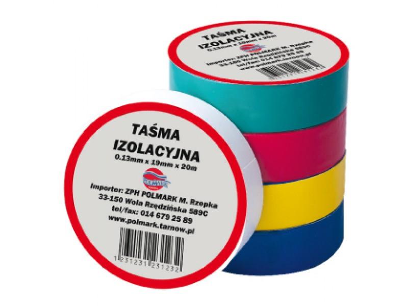 TAŚMA Elektroizolacyjna 0,13mm x 19mm x 20m zielona - I_TASMA_20M_ZIE