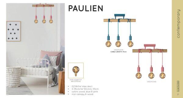 Lampa wisząca PAULIEN - 08127/03/35