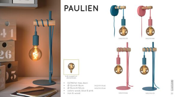 Lampa ścienna PAULIEN - 08227/01/35