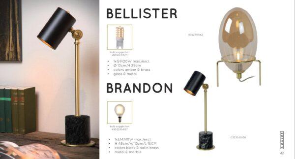 Lampa stojąca BRANDON - 03530/01/30