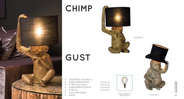 Lampa stojąca EXTRAVAGANZA CHIMP - 10502/81/30