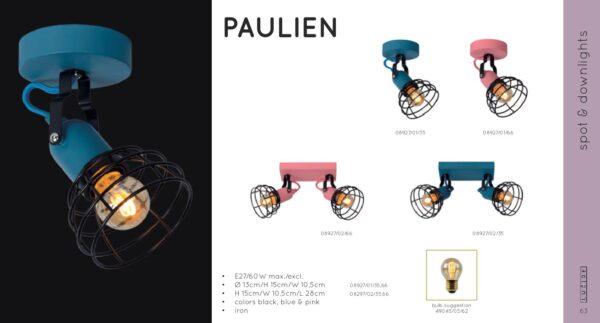 Lampa ścienna PAULIEN - 08927/01/35