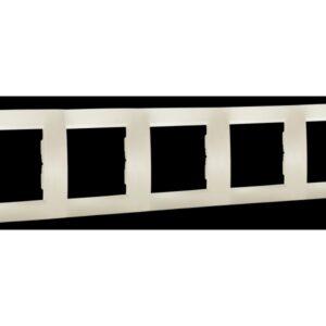 Ramka 5-krotna - uniwersalna poziom i pion - 1501650_031K