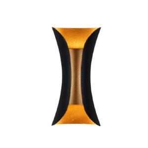 Kinkiet Abigali Black-Gold ABIGALI - KMG2X5WW