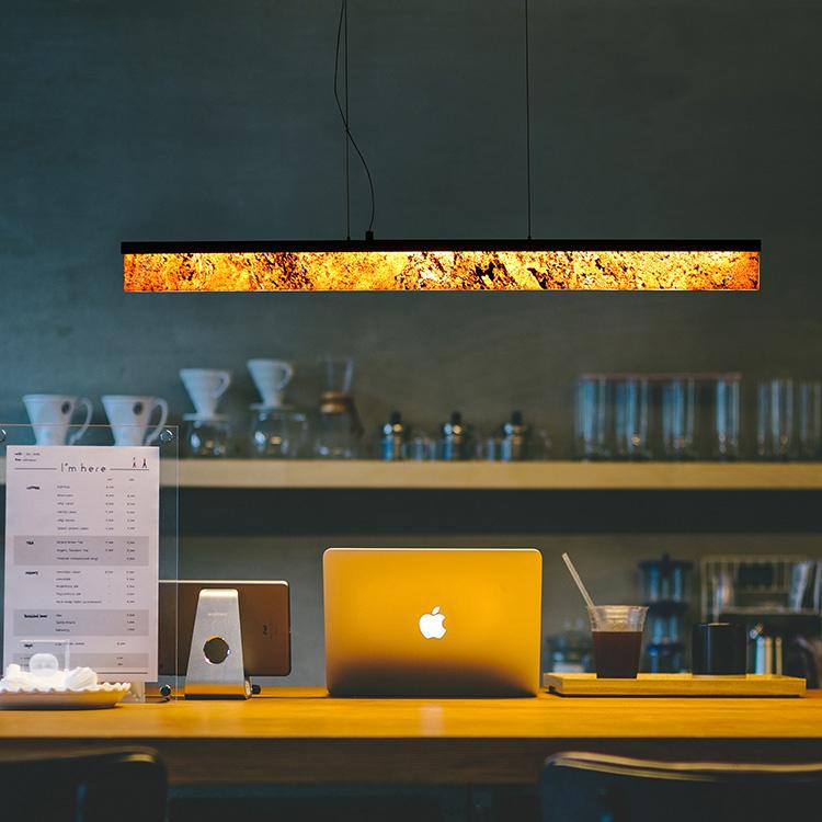 Designerska lampa wisząca ABIGALI - MPLS-6602-607Y
