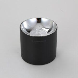 Czarny spot natynkowy LED Roller  BLAUPUNKT - DLB10WW